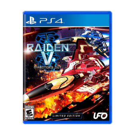 Jogo Raiden V: Director's Cut (Limited Edition) - PS4