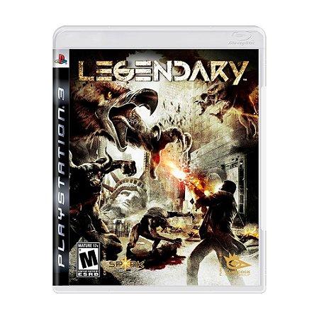 Jogo Legendary - PS3
