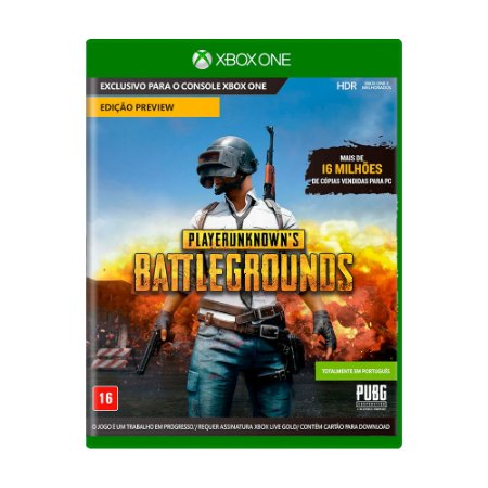 Jogo Playerunknown's Battlegrounds - Xbox One