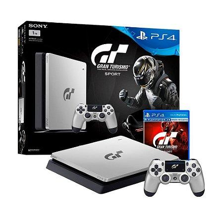 Console PlayStation 4 Slim 1TB + Gran Turismo Sport (Limited Edition) - Sony