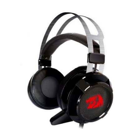 Headset Gamer USB Siren 2.0 (H601) Surround 7.1 Virtual com fio - Redragon