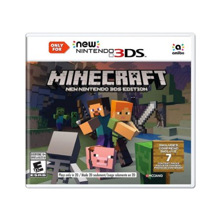 Jogo Minecraft (New Nintendo 3DS Edition) - New 3DS