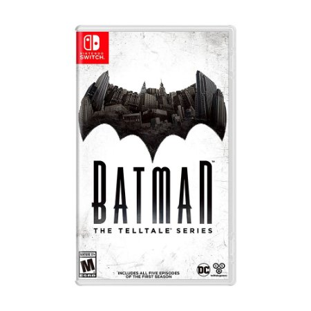Jogo Batman: The Telltale Series - Switch