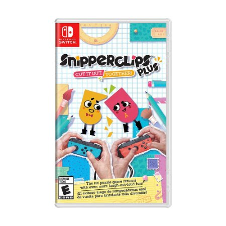 Jogo Snipperclips Plus: Cut it out, Together! - Switch