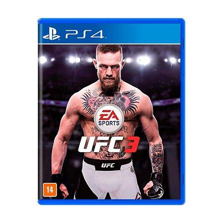 Jogo EA Sports UFC 3 - PS4