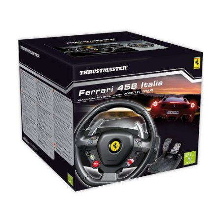 Volante Thrustmaster Ferrari 458 Italia Racing Wheel - Xbox 360 e PC
