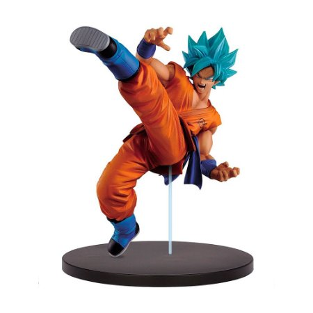 Action Figure Super Saiyan God Son Goku (Son Goku Fes!! Vol. 1) Dragon Ball Super - Banpresto