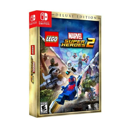 Jogo LEGO Marvel Super Heroes 2 (Deluxe Edition) - Switch