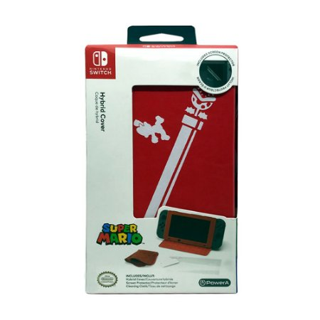 Capa Híbrida PowerA (Super Mario) - Switch