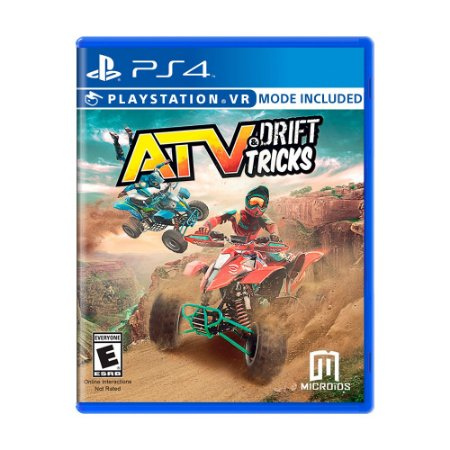 Jogo ATV: Drift & Tricks - PS4