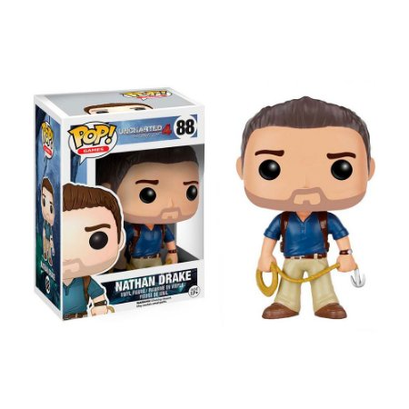Boneco Nathan Drake 88 Uncharted 4: A Thief's End - Funko Pop