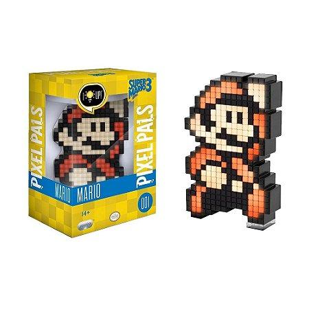 Luminária Pixel Pals Mario 001 Super Mario Bros. 3 - PDP