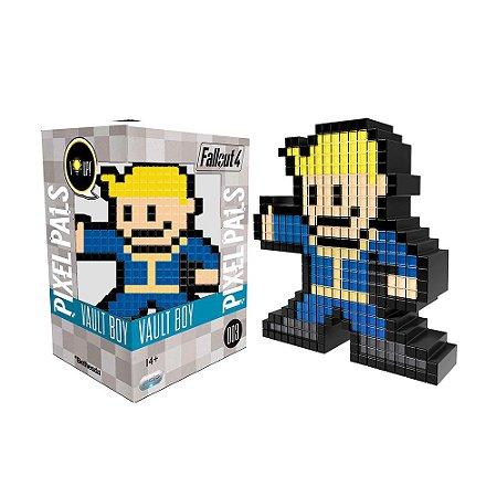 Luminária Pixel Pals Vault Boy 003 Fallout 4 - PDP