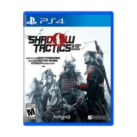 Jogo Shadow Tactics: Blades of the Shogun - PS4