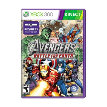 Jogo Marvel's The Avengers: Battle For Earth - Xbox 360