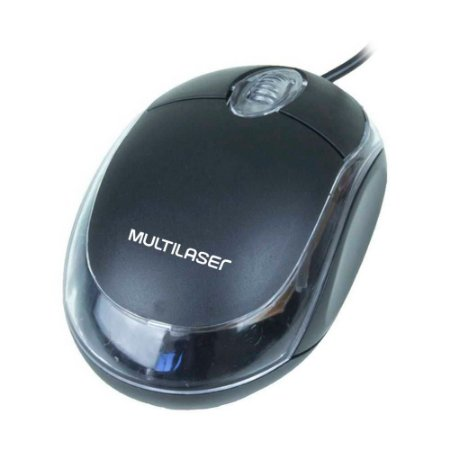 Mini Mouse Óptico (MO179) Multilaser USB - PC