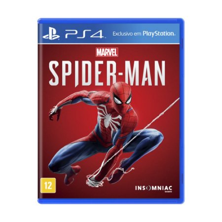 Jogo Marvel's Spider-Man - PS4