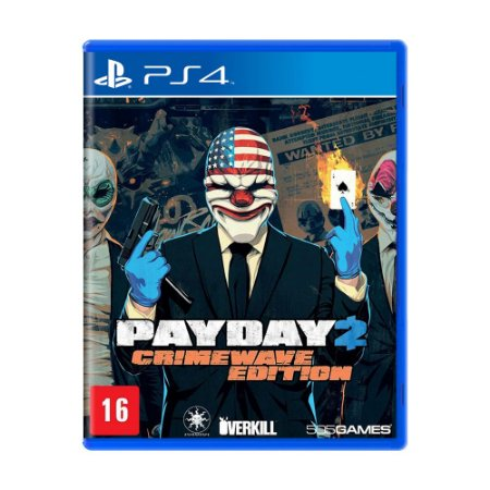 Jogo PayDay 2 (Crimewave Edition) - PS4