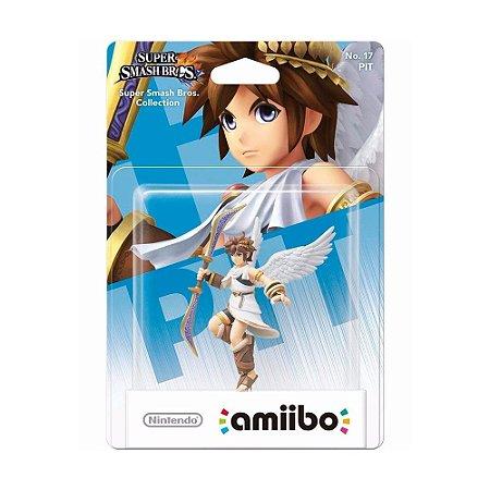 Nintendo Amiibo: Pit - Super Smash Bros. Collection - Wii U e New Nintendo 3DS