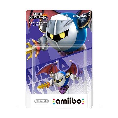 Nintendo Amiibo: Meta Knight - Super Smash Bros. Collection - Wii U e New Nintendo 3DS