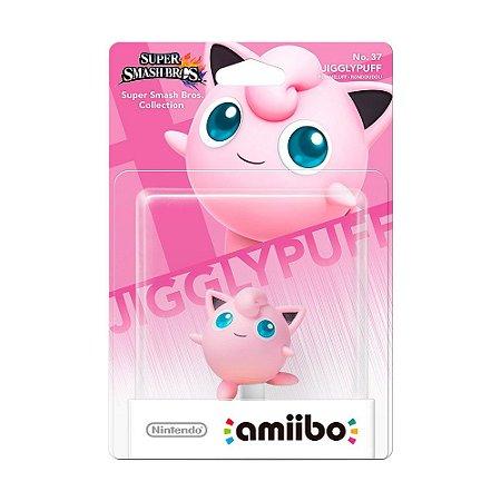 Nintendo Amiibo: Jigglypuff - Super Smash Bros. Collection - Wii U e New Nintendo 3DS