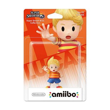 Nintendo Amiibo: Lucas - Super Smash Bros. Collection - Wii U e New Nintendo 3DS