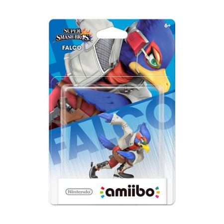 Nintendo Amiibo: Falco - Super Smash Bros. Collection - Wii U e New Nintendo 3DS