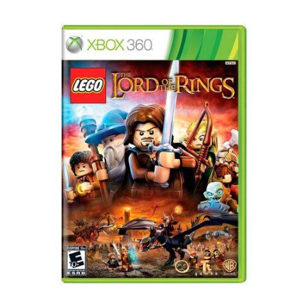 Jogo LEGO The Lord of the Rings - Xbox 360
