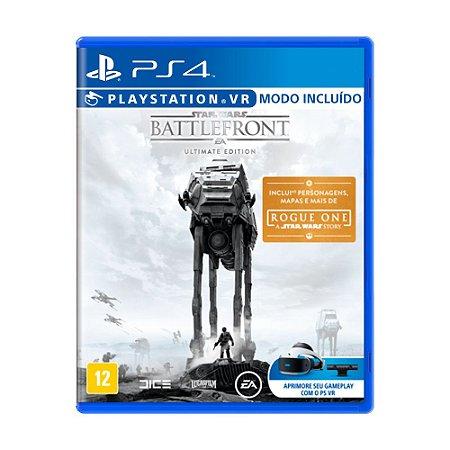 Jogo Star Wars Battlefront (Ultimate Edition) - PS4