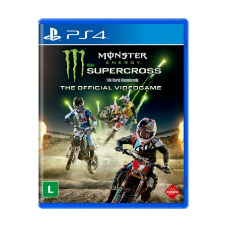 Jogo Monster Energy Supercross - The Official Videogame - PS4