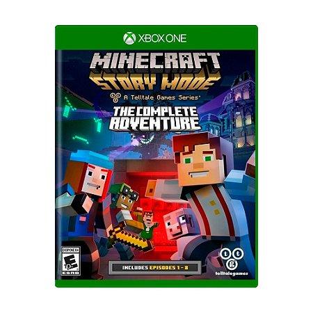 Jogo Minecraft: Story Mode (Episódios 1 - 8) - Xbox One