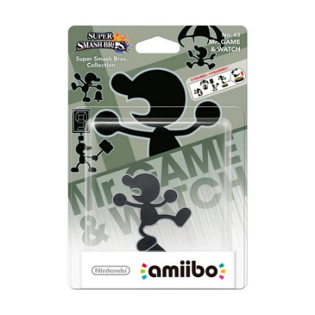 Nintendo Amiibo: Mr. Game & Watch - Super Smash Bros. - Wii U e New Nintendo 3DS
