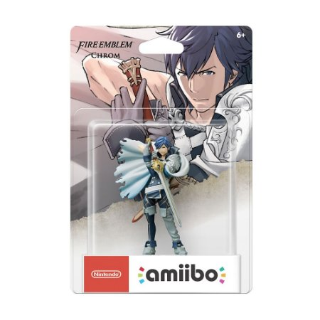 Nintendo Amiibo: Chrom - Fire Emblem - Wii U, New Nintendo 3DS e Switch