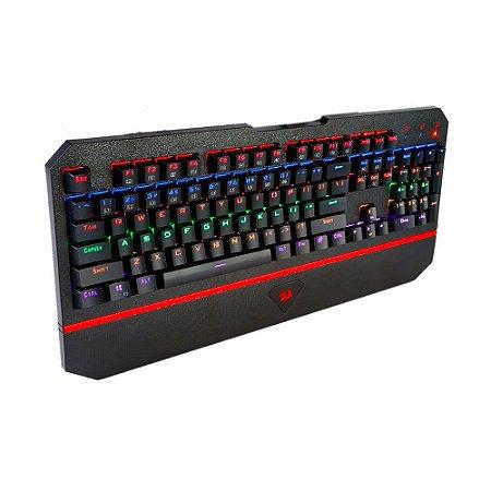 Teclado Mecânico Gamer Anala (K558R) Rainbow - Redragon