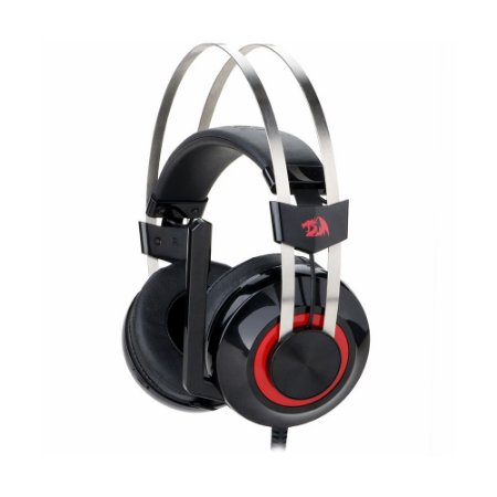 Headset Gamer USB Talos (H601) Surround 7.1 Virtual com fio - Redragon