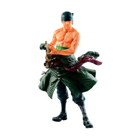 Action Figure Roronoa Zoro (Big Size Figure) One Piece - Banpresto