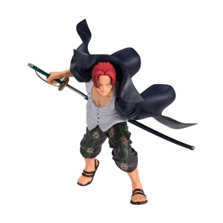 Action Figure Shanks (Swordsman's Moment Vol. 2) One Piece - Banpresto