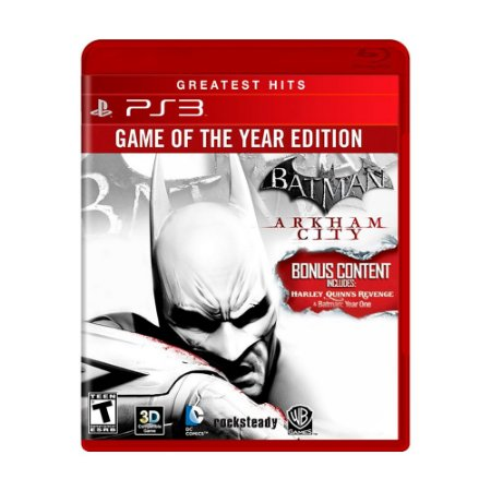 Jogo Batman: Arkham City (GOTY) - PS3
