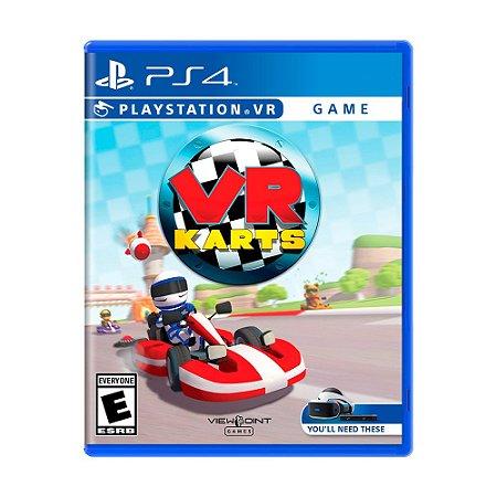 Jogo VR Karts - PS4 VR