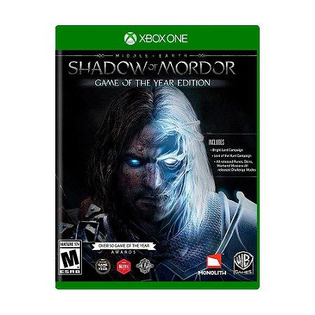 Jogo Middle-Earth: Shadow of Mordor (GOTY) - Xbox One