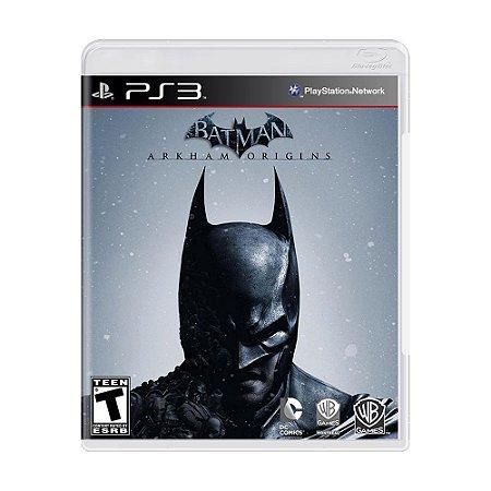 Jogo Batman: Arkham Origins - PS3