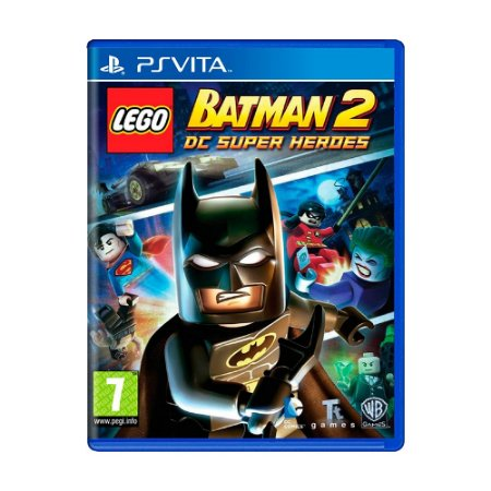 Jogo LEGO Batman 2: DC Super Heroes - PS Vita