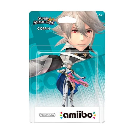 Nintendo Amiibo: Corrin - Super Smash Bros. - Wii U e New Nintendo 3DS