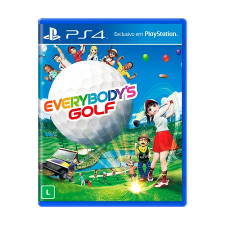 Jogo Everybody's Golf - PS4