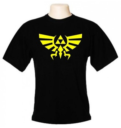 Camiseta Wimza Águia Triforce - The Legend of Zelda