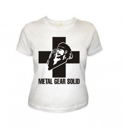 Camiseta Wimza Metal Gear Solid