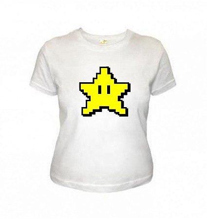 Camiseta Wimza Estrela - Super Mário