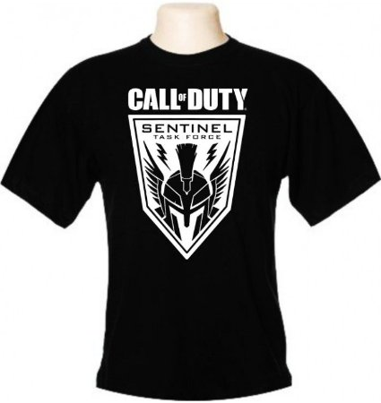 Camiseta Wimza Call of Duty - Sentinel Task Force