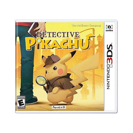 Jogo Detective Pikachu - 3DS