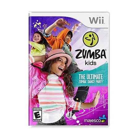 Jogo Zumba Kids - Wii